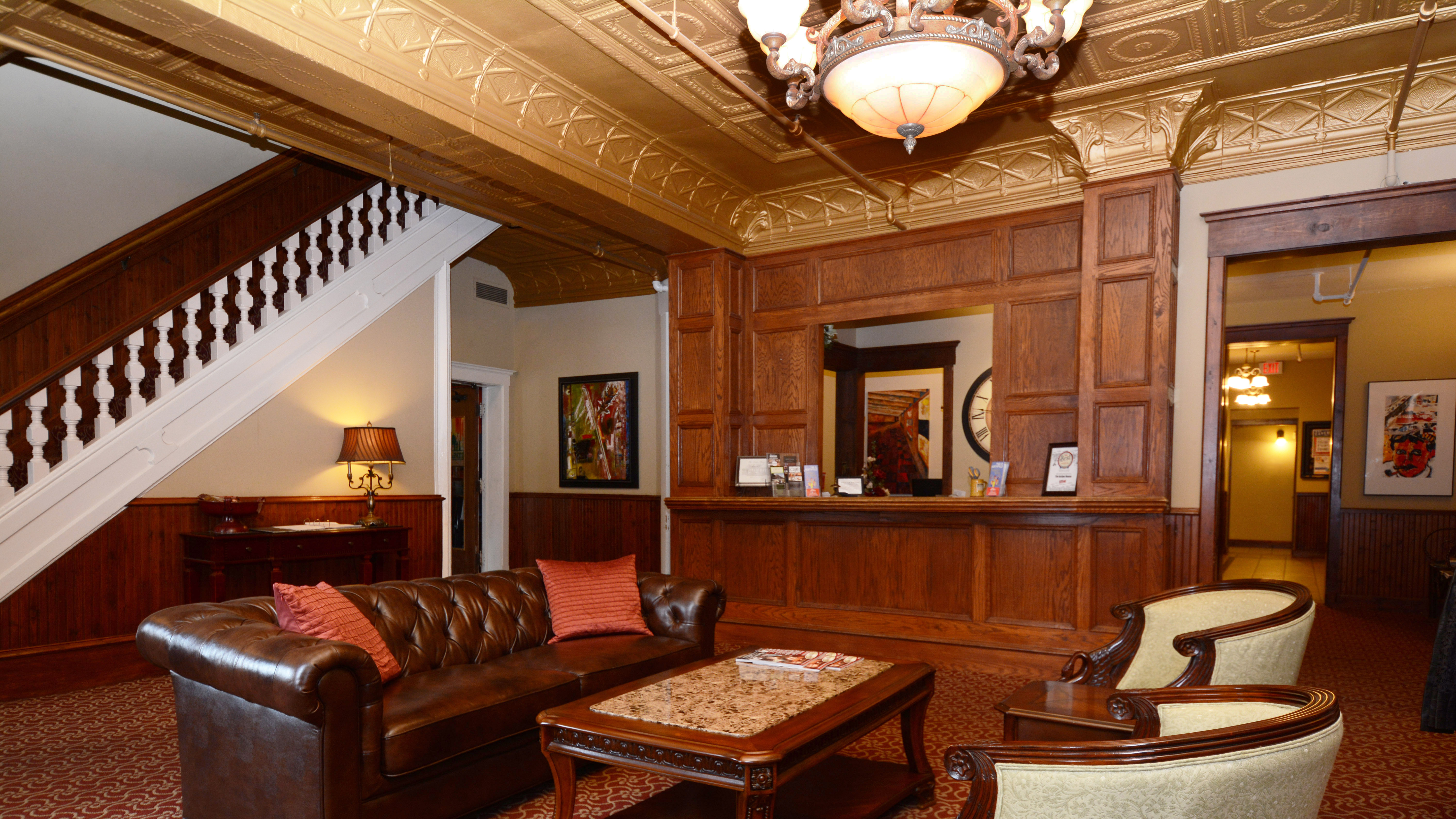 Lobby View of Front Desk